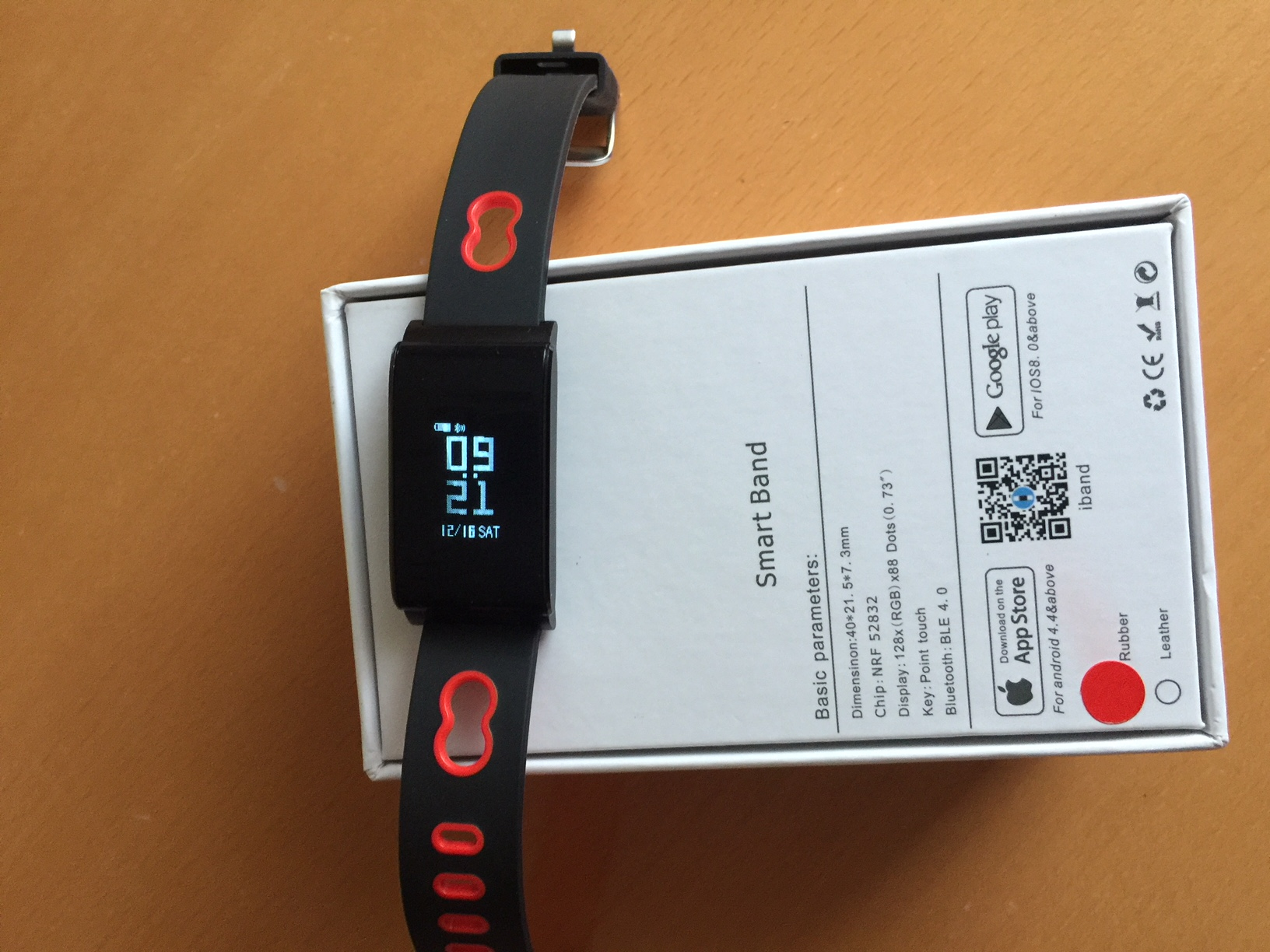 china fitness tracker n 109 im test sport pulsuhr. Black Bedroom Furniture Sets. Home Design Ideas
