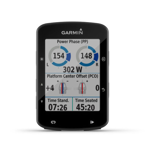 Garmin Edge 520 Plus Display